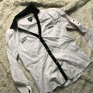 Express The Essential Shirt Button Down